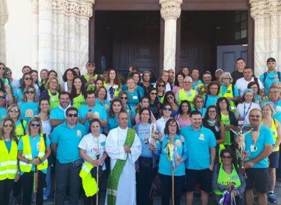 Peregrinos alentejanos caminham até Fátima