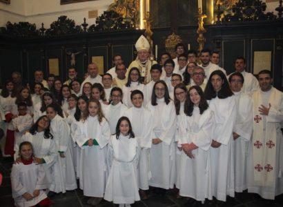 Mais de meia centena de Acólitos da Arquidiocese de Évora participaram em Encontro