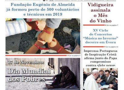 """REVISTA DE IMPRENSA: EDIÇÃO DE 13 DE NOVEMBRO DO SEMANÁRIO """"A DEFESA"""""""