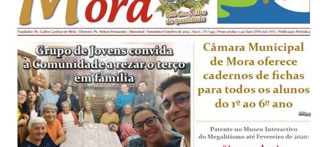 Revista de Imprensa: Mensagem de Mora – edição de Setembro/Outubro de 2019