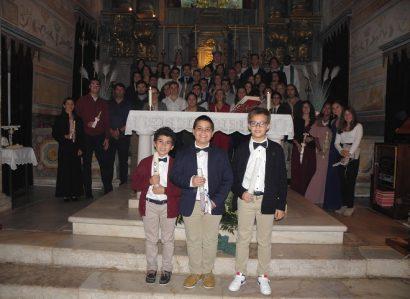 Couço e Veiros: Arcebispo de Évora ministra  Sacramento da Confirmação