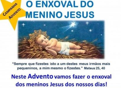Campanha de Advento: O Enxoval do Menino Jesus