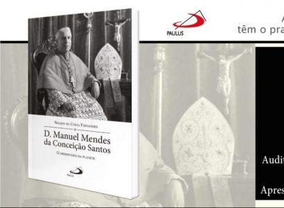 Livro sobre D. Manuel Mendes da Conceição Santos foi apresentado em Évora