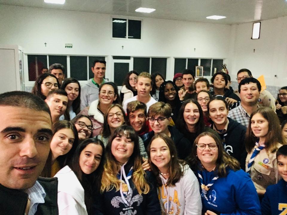 "Rumo às JMJ2022  - Projecto ""SayYes"" em Samora Correia"