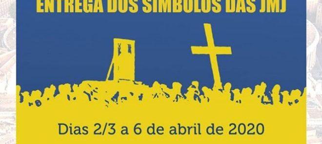 2 a 6 de Abril 2020: Peregrinação a Roma – Entrega dos símbolos das JMJ