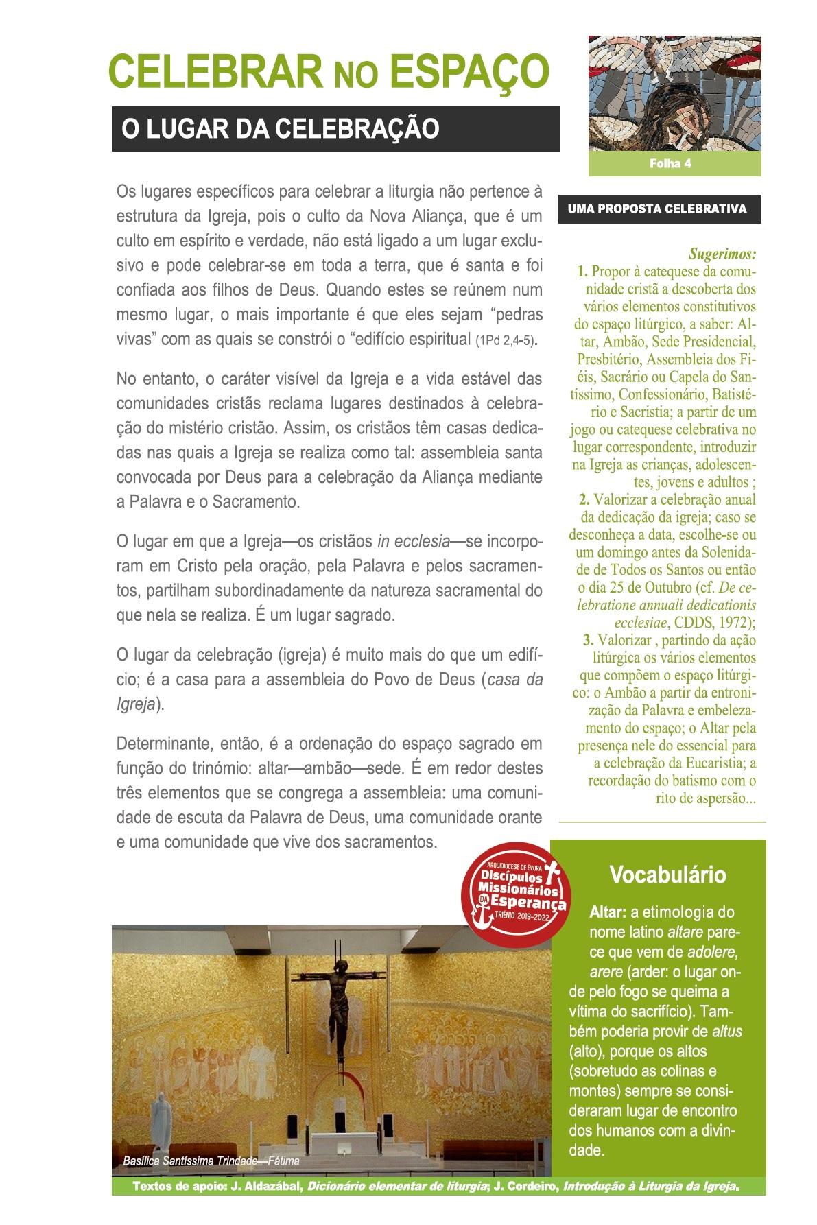 09_02_2020_FOLHA 4 - Eucaristia 9 FEV202 - V Tempo Comum_1