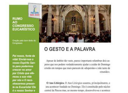 Liturgia: Subsídios para a celebração do Domingo II do Tempo Comum (19 de Janeiro de 2020)