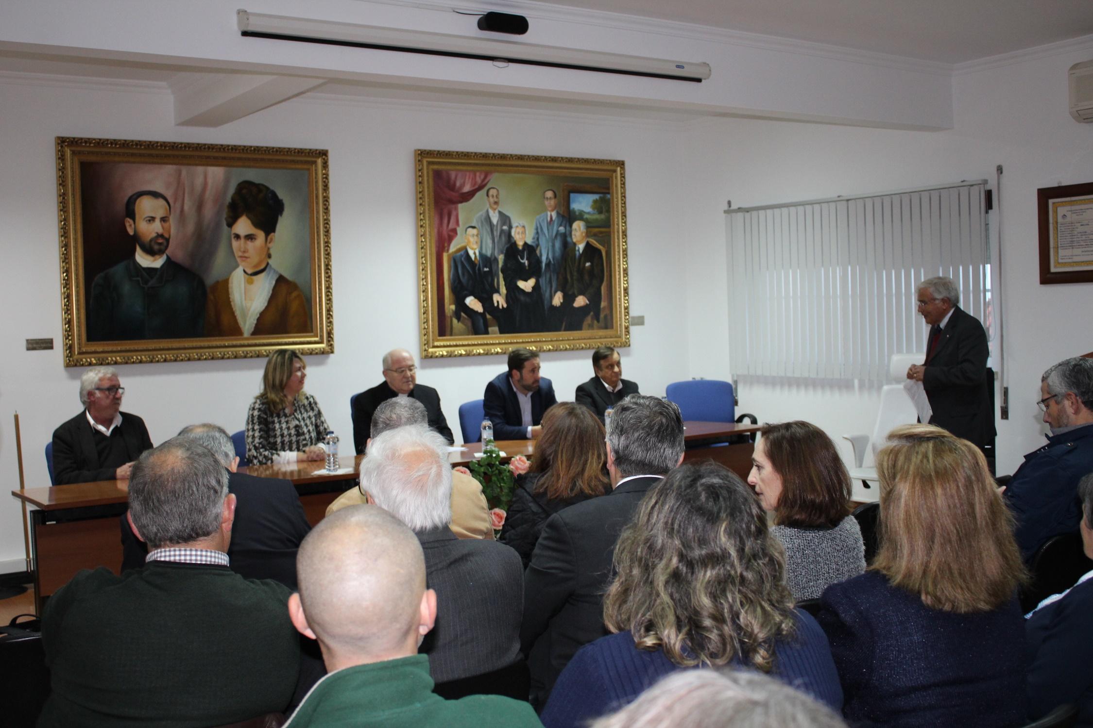 Lançamento da Obra de Ampliação do Lar da Fundação Maria Clementina Godinho de Campos - Galveias