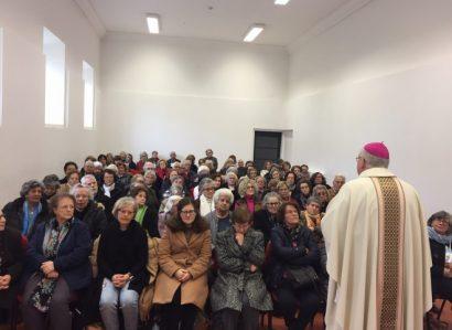 Dia Mundial do Doente celebrado com Retiro: Arcebispo de Évora ministra Sacramento da santa Unção