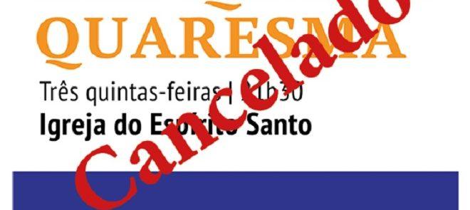 CANCELADAS: Catequeses Quaresmais na Igreja do Espírito Santo (Évora)