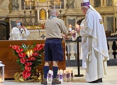 14 de dezembro: Arcebispo de Évora presidiu à Eucaristia na qual será acolhida a Luz da Paz de Belém