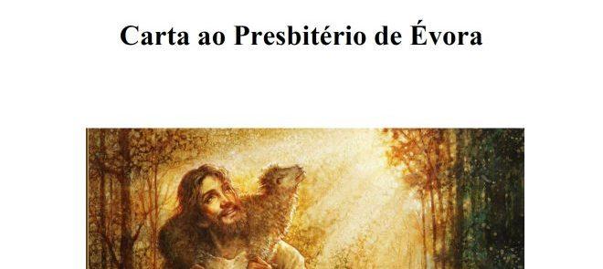 Arcebispo de Évora: Carta ao Presbitério de Évora
