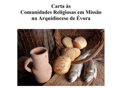 Arcebispo de Évora: Carta às Comunidades Religiosas em Missão na Arquidiocese de Évora