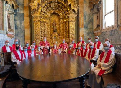 29 de junho: Solenidade de S. Pedro e S. Paulo foi celebrada na Igreja de S. Francisco, em Évora
