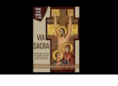 26 de março: Via Sacra presidida pelo Arcebispo de Évora e com participação de profissionais de saúde