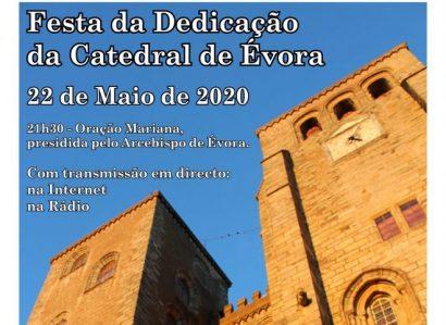 Reveja a celebração da Festa da Dedicação da Catedral de Évora