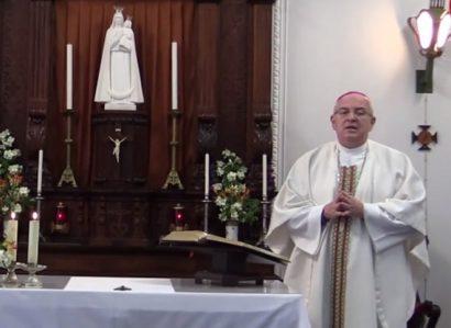 A partir da Casa Arquiepiscopal: Arcebispo de Évora rezou pelo fim da Pandemia (reveja a transmissão)