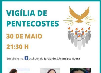 Reveja a Vigília de Pentecostes de 2020