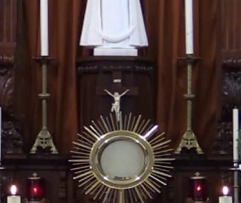 Adoração e Eucaristia do VI Domingo da Páscoa