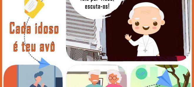 Covid-19: Vaticano lança campanha  de abraços para os mais velhos