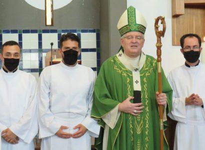 Arcebispo confere  Ministérios aos seminaristas do Seminário Redemptoris Mater de Évora