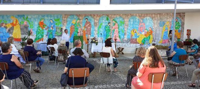 Évora: Paróquia de Nossa Senhora de Fátima inaugura  mural que assinala  a experiência da pandemia