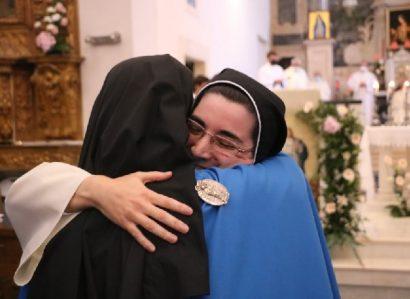 Profissão Temporária de Sor Maria Dina no Mosteiro da Imaculada Conceição em Campo Maior