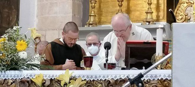 Profissão Perpétua e Ordenação Diaconal do Irmão Marco Roscini