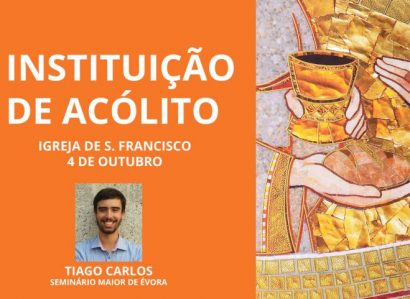 4 de Outubro: Instituição de Acólito do seminarista Tiago Carlos – Seminário Maior de Évora