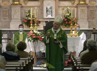 25 de Outubro: Arcebispo de Évora celebrou Eucaristia em Mora por todos os atingidos pela pandemia Covid-19