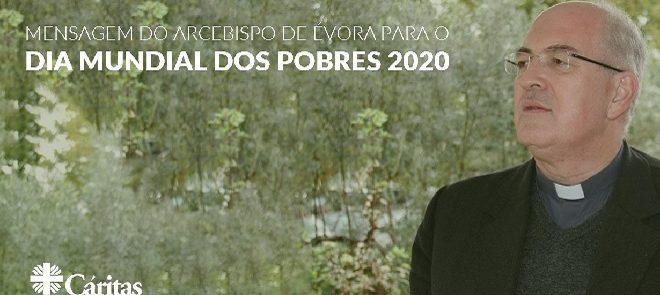 Carta do Arcebispo de Évora: Dia Mundial dos Pobres (15 de Novembro)