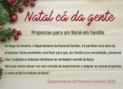 """""""Natal cá da gente"""" siga o itinerário espiritual do Departamento da Pastoral da Família de Évora"""