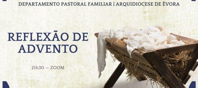 Reveja a Reflexão de Advento promovida pelo Departamento da Pastoral Familiar