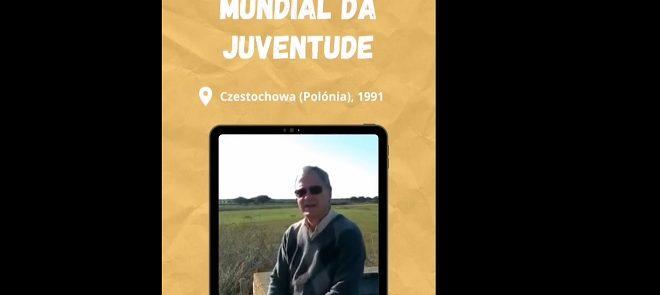 RumoàJMJ2023: Testemunho do P. Carlos Fonte que participou na Jornada Mundial da Juventude de 1991