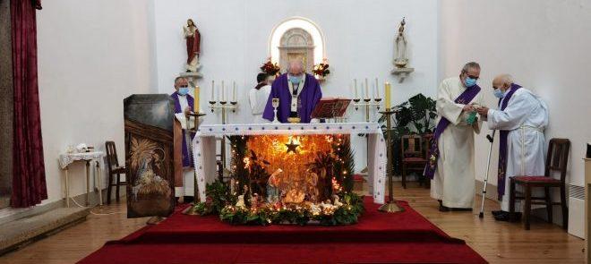 23 de dezembro, às 15h30: Arcebispo presidiu a Eucaristia em directo a partir do Hospital de Évora