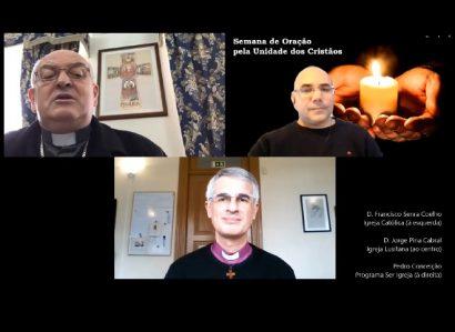 25 de janeiro, às 21h: Momento Ecuménico de Diálogo e Oração