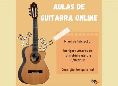 Pastoral Juvenil da Arquidiocese de Évora propõe aulas de guitarra online