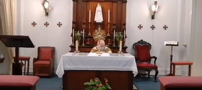 25 de fevereiro: Arcebispo de Évora presidiu à Adoração pelas Vocações