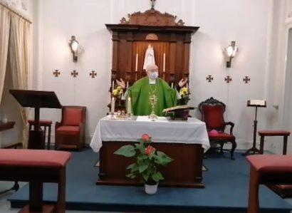 14 de fevereiro: Arcebispo de Évora presidiu à Eucaristia dominical pelo fim da pandemia