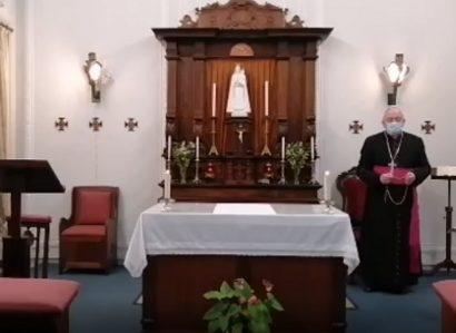 6 de março: Arcebispo de Évora presidiu à Oração do Terço pelo fim da Pandemia