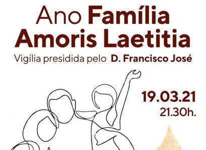 19 de Março: Vigília de Oração A Vocação da Família