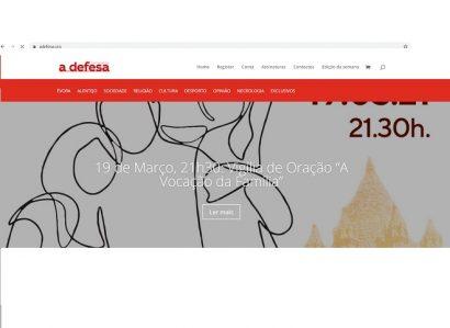 """19 de Março: No dia do 98º aniversário """"a defesa"""" lança novo site"""
