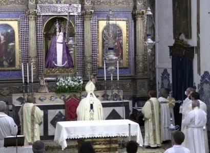 25 de março: Eucaristia no início do Ano Jubilar, com concessão de indulgência plenária, pelos 375 anos da proclamação de N.ª Sr.ª da Conceição como Padroeira de Portugal