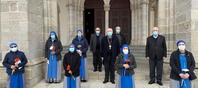 5 de Março: Arcebispo de Évora recebeu as Irmãs Servidoras do Senhor
