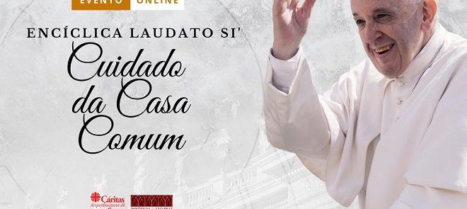 """Ano Pastoral 20/21: Conferências de apresentação da Encíclica """"Laudato Sì"""", pelo cón. Silvestre Marques"""
