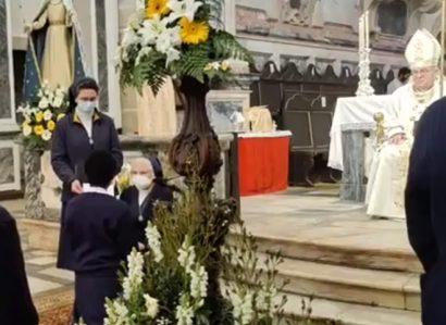 Profissão religiosa temporária de 6 noviças das Irmãs Concepcionistas ao Serviço dos Pobres