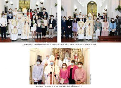 Sacramento da Confirmação nas Paróquias da Arquidiocese de Évora
