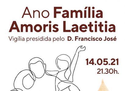 14 de Maio, às 21h30: Vigília de Oração – O Amor que se torna fecundo