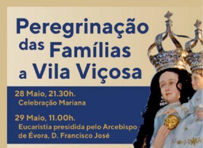 28 e 29 de maio: Peregrinação diocesana das Famílias ao Solar da Padroeira
