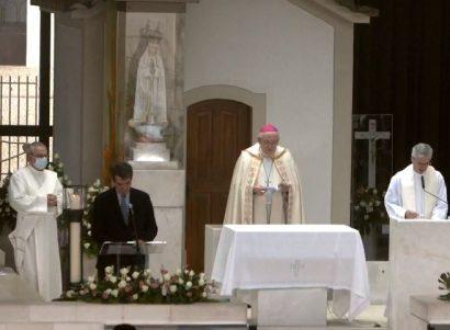 13 de Maio, 15h: Arcebispo de Évora preside à recitação do terço, a partir da Capelinha das Aparições